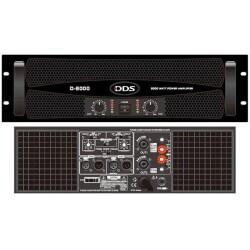 DDS - DDS D-800 6000 Watt 2 ohm 2 X 3000