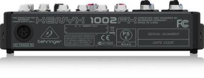 Behringer XENYX 1002FX 10 Kanal Deck Mikser