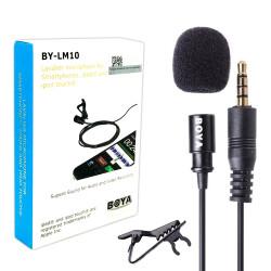 Boya - Boya BY-LM10 Telefon Yaka Mikrofonu