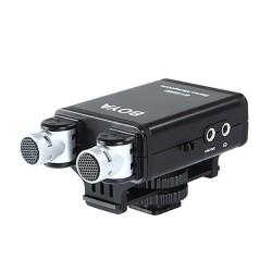 Boya - Boya BY-SM80 Profesyonel Stereo Kamera Mikrofonu