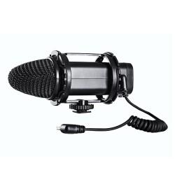 Boya - Boya BY-V02 Condenser DSLR Kamera Mikrofonu
