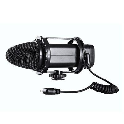 Boya BY-V02 Condenser DSLR Kamera Mikrofonu