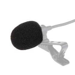 Boya - Boya Yaka Mikrofonu Universal Mikrofon Süngeri