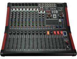 DDS - DDS D12 P3000 FX 3000 Watt 12 Kanal Power Mikser
