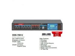 Denox - Denox DXK 150 U 8 Ohm Ekranlı Amplifikatör