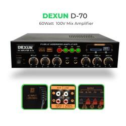 Dexun - Dexun D-70 100V Hat Trafolu Amplifer