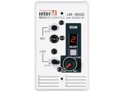 Inter-M - İnterm LM - 8000 Audio Matrix Uzak Giriş Modülü
