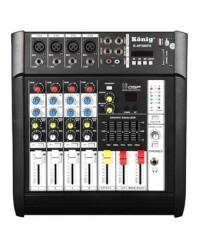 König - König K 4 P300 FX 2x150W Power Mixer
