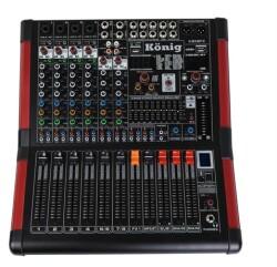 König - König K 808 FX 8 Kanal Deck Mixer