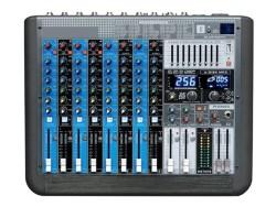 Lentus - LENTUS 12P500 EFX 12 Kanallı Aktif Power Mixer Amfi