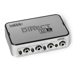 Miktek - Miktek DI-2 Stereo Active Direct Box