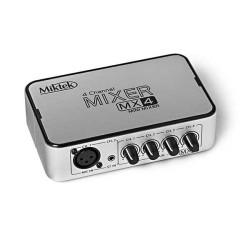 Miktek - Miktek MX4 4-Kanallı Mini Mikser