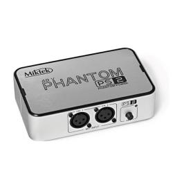 Miktek - Miktek PS2 2-Kanallı 48 V Phantom Power