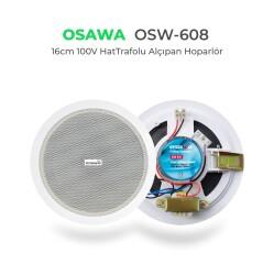 Osawa - Osawa OSW-608 16cm 100V Hat Trafolu Alçıpan Hoparlör