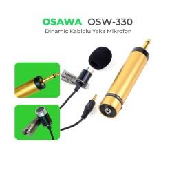 Osawa - Osawa OSW-330 Kablolu Yaka Mikrofonu