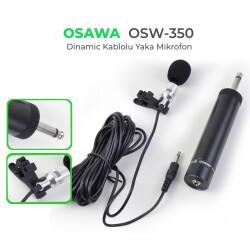 Osawa - Osawa OSW-350 Kablolu Yaka Mikrofonu