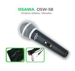 Osawa - Osawa OSW-58 Kablolu EL Mikrofonu