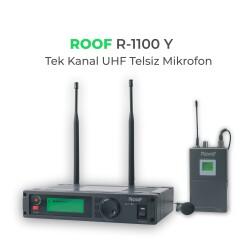 Roof - Roof R-1100 YAKA Tek Kanal UHF Telsiz Mikrofon