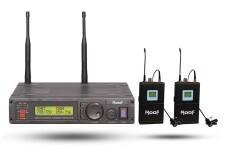 Roof - Roof R-1200 YAKA+YAKA 2 Kanal 2 Anten UHF Telsiz Mikrofon
