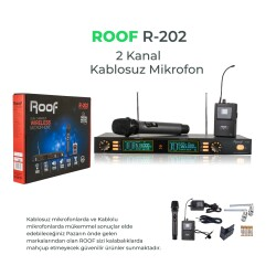 Roof - Roof R-202 EL+YAKA 2 Kanal UHF Receiver