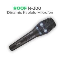 Roof - Roof R-300 Kablolu Dinamic El Mikrofonu