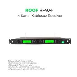 Roof - Roof R-404 4 Kanal 2 Anten Receiver