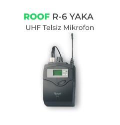 Roof - Roof R-6 Kablosuz Yaka Mikrofonu