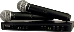 Shure - Shure BLX288E/PG58 Kablosuz El Mikrofonu