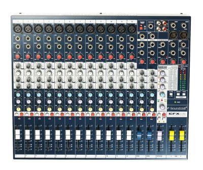 Soundcraft EFX12 12 Kanal Deck Mikser