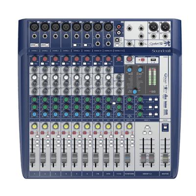 SoundCraft Signature 12 12 Kanal Deck Mikser