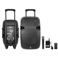 Westa - Westa WAP-12502ET El Yaka Mikrofonlu Seyyar Ses Sistemi Akülü